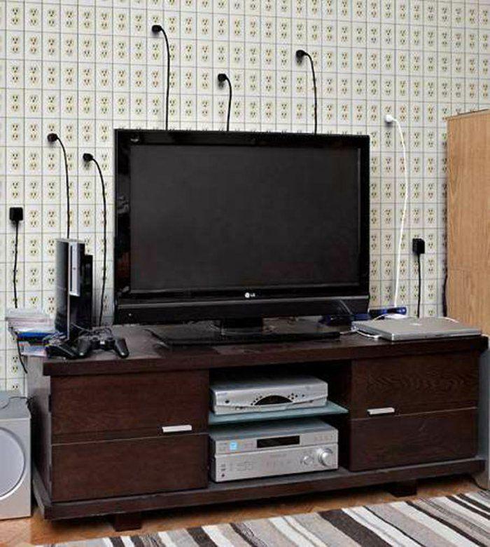 die 25+ besten tv kabel verstecken ideen auf pinterest | tv-kabel,