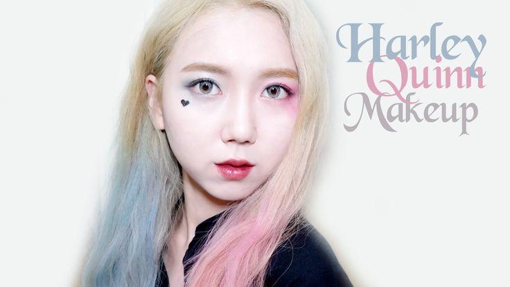 (ENG) 할리퀸 메이크업 Harley Quinn Makeup Tutorial | Minjeong Park