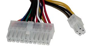20+4 pin power supply connector