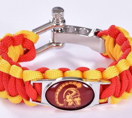 University of Southern California USC Trojans Wristband