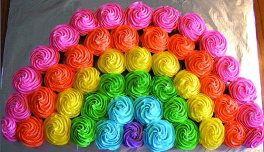 Rainbow Birthday Party Ideas #19 DIY Decor and Party Food