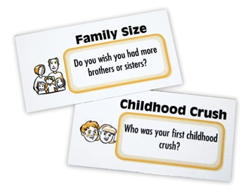Fun ways to chat about your life with your kids.: Kid