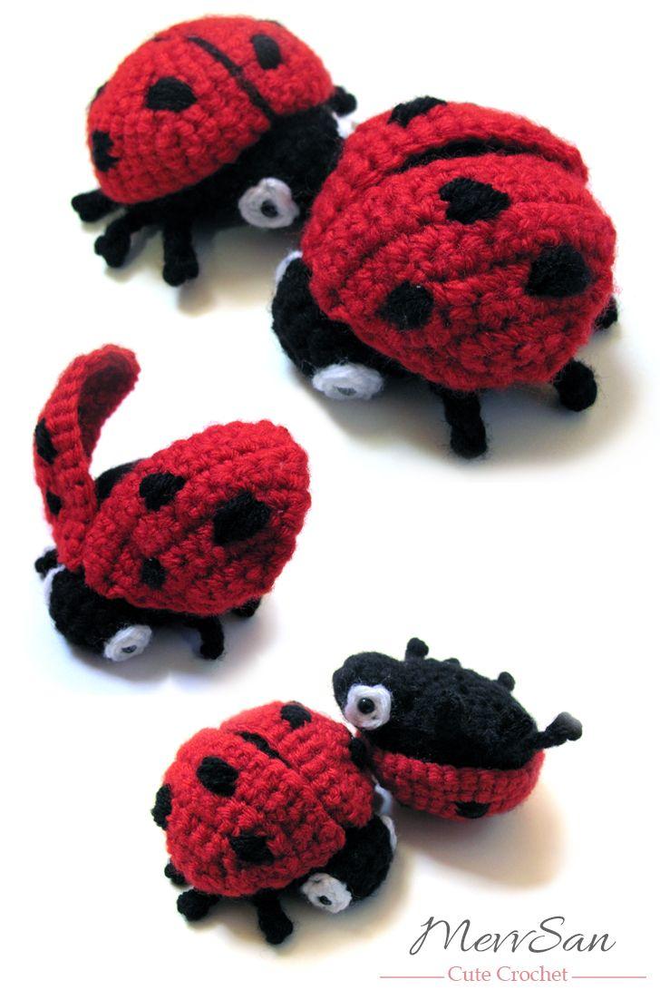 amigurumi ladybug