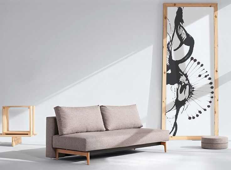 Trym sofabed with lacquered oak legs. Exclusive danish designed sofabed for Innovation Living Melbourne. From $2199