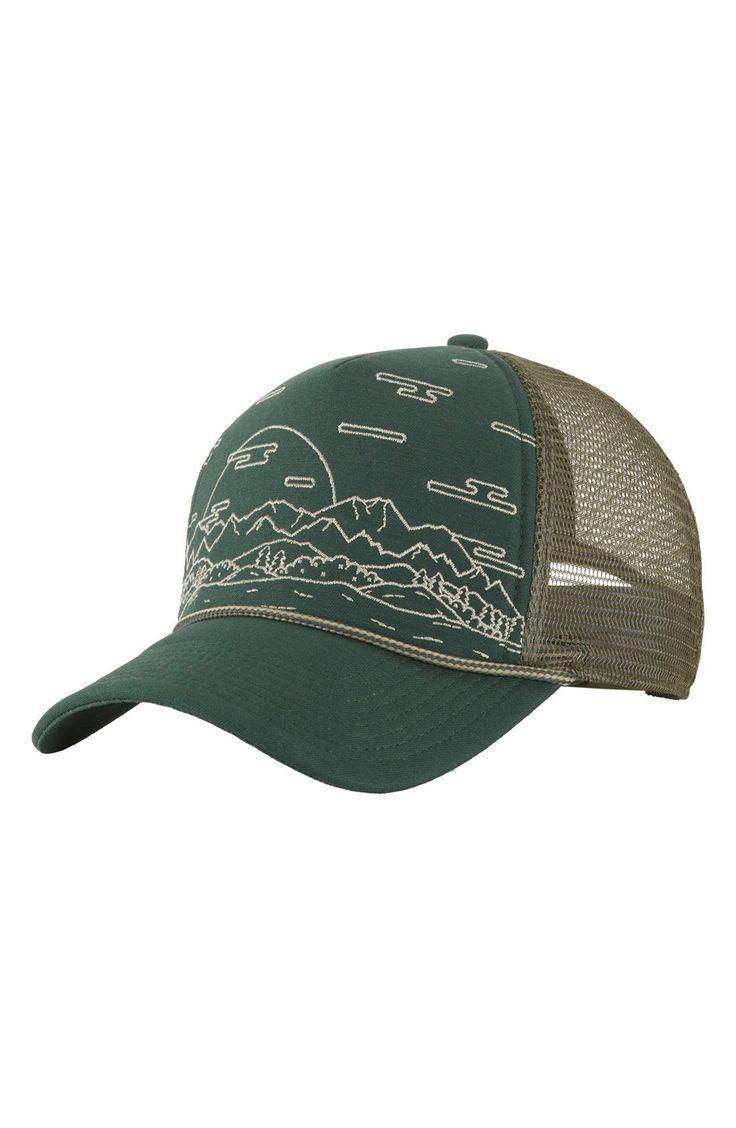 The North Face 'Cross Stitch' Trucker Hat