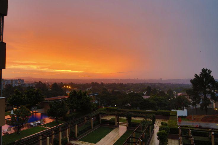 Sunset Over Sandton by Alon Berman on 500px