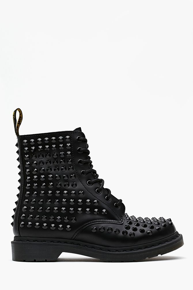 Spike 8 Eye Boot - Black saw these on someone yesterday and they're sick