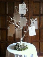 Elmers Court Wedding Showcase - New Manzanita Tree Table Plan Debut