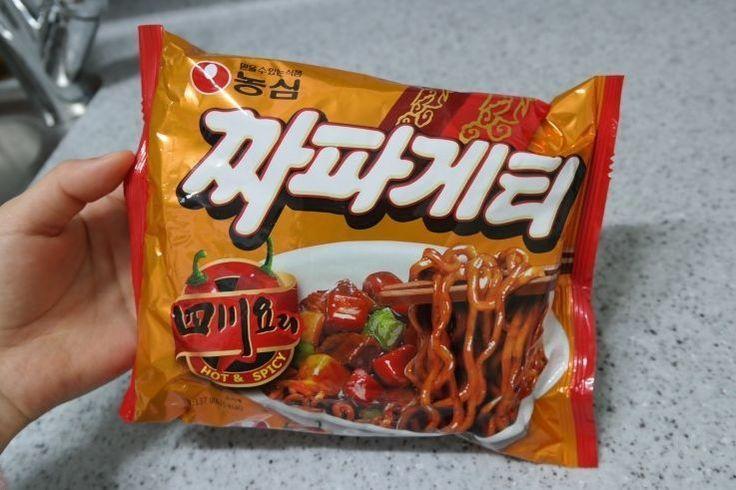 Korean Hot Spicy Black Bean Sauce Noodle NONGSHIM SACHEON Chapagetti 3,6,9ea #NONGSHIM