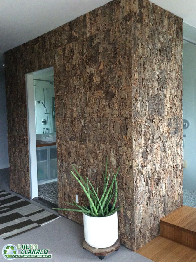 designer cork wall tiles for the bathroom - Cork Bathroom Interior