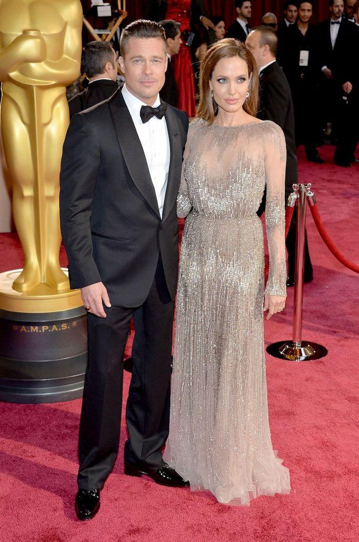 Brad Pitt postawił na klasyczne lakierowane półbuty