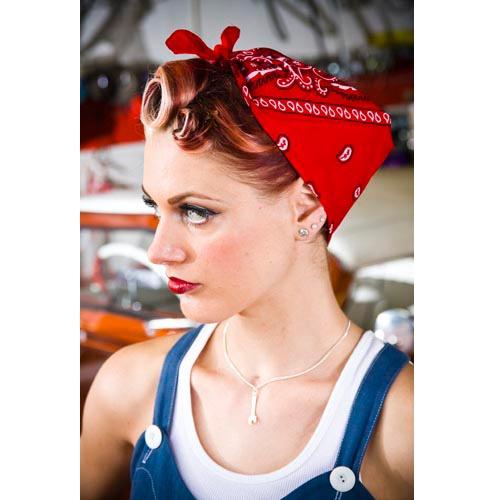 red bandana for hair - Bing Images