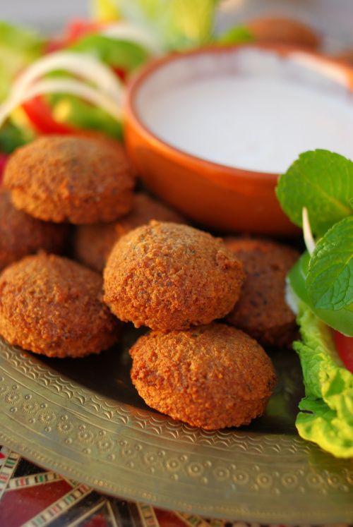 Falafel (boulettes de pois chiches frites)