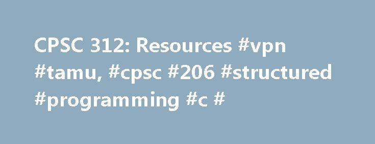 CPSC 312: Resources #vpn #tamu, #cpsc #206 #structured #programming #c # http://baltimore.remmont.com/cpsc-312-resources-vpn-tamu-cpsc-206-structured-programming-c/  # CPSC 312. Resources Software Resources We will use Logisim for designing circuits. Logisim can be obtained from here. http://ozark.hendrix.edu/ burch/logisim/ Programming assignmens will be done using the C language and the Y86 simulator. For programming in C, use the following information: Compiler = gcc Server…