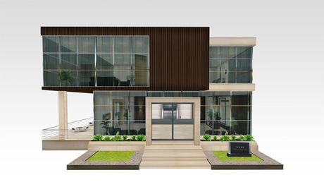 Small office building modern google search kriya for Modern office exterior design