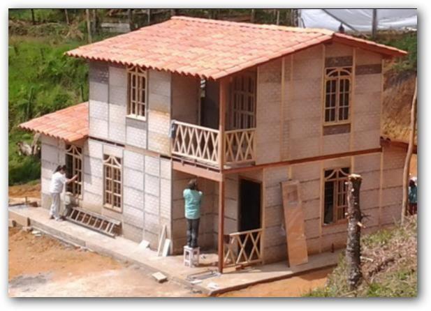 Prefabricada de dos pisos