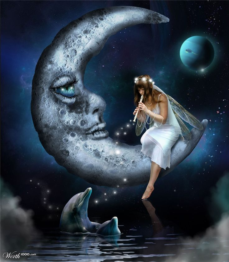 Moon:  #Crescent #Moon ~ Lullaby - Worth1000 Contests.
