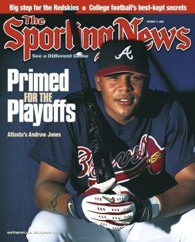 Atlanta Braves OF Andruw Jones - October 9, 2000