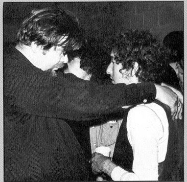 Bob Dylan with Dave Van Ronk May 9, 1974 Friends of Chile Benefit New York