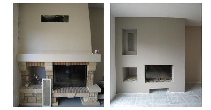 """Résultat de recherche d'images pour """"moderniser une cheminee"""""""