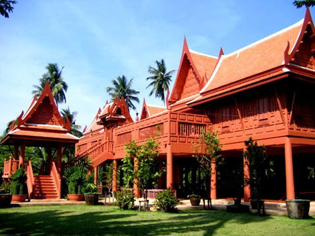 thai home design. Thai Home  More on the right menu houses have steep roofs arching upwards towards sky 178 best Heritage images Pinterest Wooden house In
