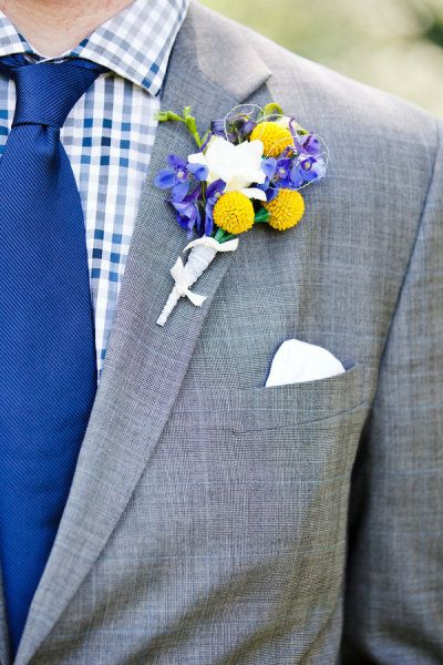 groomsmen blue and yellow