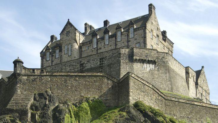 Enjoy the view from Edinburgh Castle