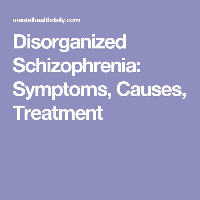 Schizophrenia: An Overview