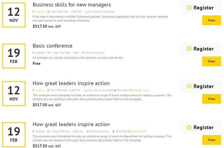 Upcoming course & event list - http://www.nads.net.nz/