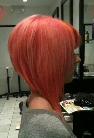 Stacked A line bob! Nice! | Hair and salon | Pinterest ...