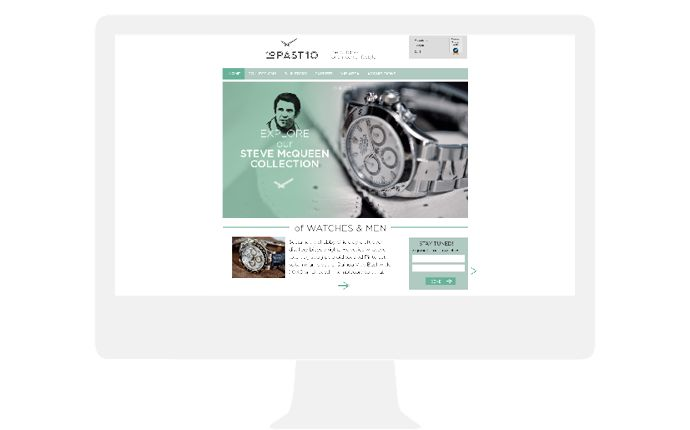 10 past 10 website design by daily milk