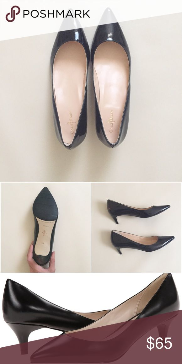 Cole Haan Nike Air black Julianna Pumps NEW. Cole Haan with Nike Air technology black Juliana Pump. Only sign of wear is left shoe sole has mild scuffing from store try ons. So comfy!! Size 10, run a tad small. Retail at $150, on Zappos now for $99. Cole Haan Shoes Heels