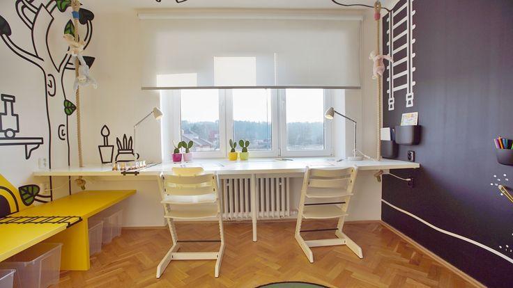 Dvojitý písací stôl