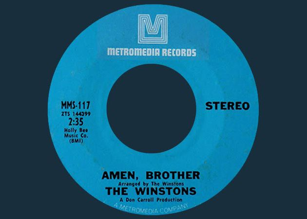 """The """"Amen break"""" is arguably the most important 6 seconds of music ever recorded. With the popularization of sampling, the 4-bar drum solo (originally fr"""