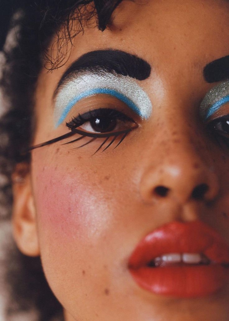 a diverse cast of models capture wild and dramatic beauty looks | look | i-D