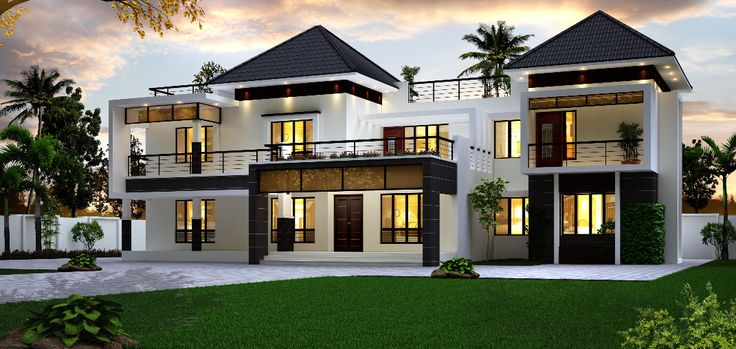 Modern Home Exterior Design Ideas 2017: Pin By Home Design On Home Design