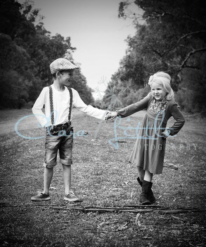 Childhood friends shoot