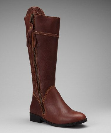 Brown Tempt Equestrian Boot