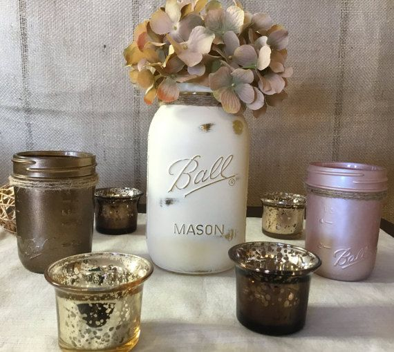 Hey, I found this really awesome Etsy listing at https://www.etsy.com/listing/274905934/rustic-wedding-centerpiece-flower-vase