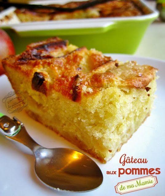 Il était une fois la pâtisserie...: Gâteau aux pommes facile de ma Mamie http://www.iletaitunefoislapatisserie.com/2013/10/gateau-aux-pommes-facile-de-ma-mamie.html