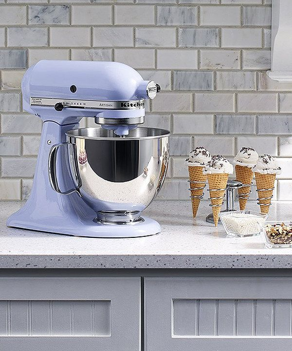 Look At This Kitchenaid Lavender Cream 5 Qt Artisan