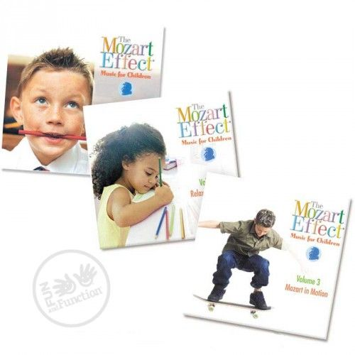 The Mozart Effect® for Children aims to maximize the benefits of classical music by compiling some of the best of Mozart's music to stimulate young minds.