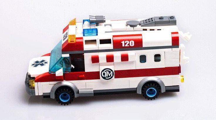 12.19$  Watch here - http://aliatg.shopchina.info/go.php?t=32797389161 - AIBOULLY 2017 New 1118 Block Ambulance Series DIY 328pcs Bricks Truck Building Blocks Toys Kids Gift Playmobil Block  12.19$ #aliexpress