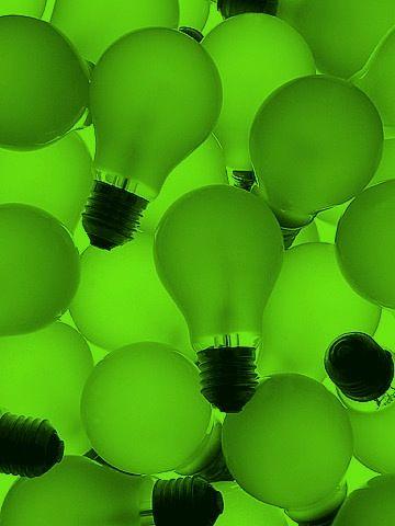 Green Lightbulbs                                                                                                                                                     Mais
