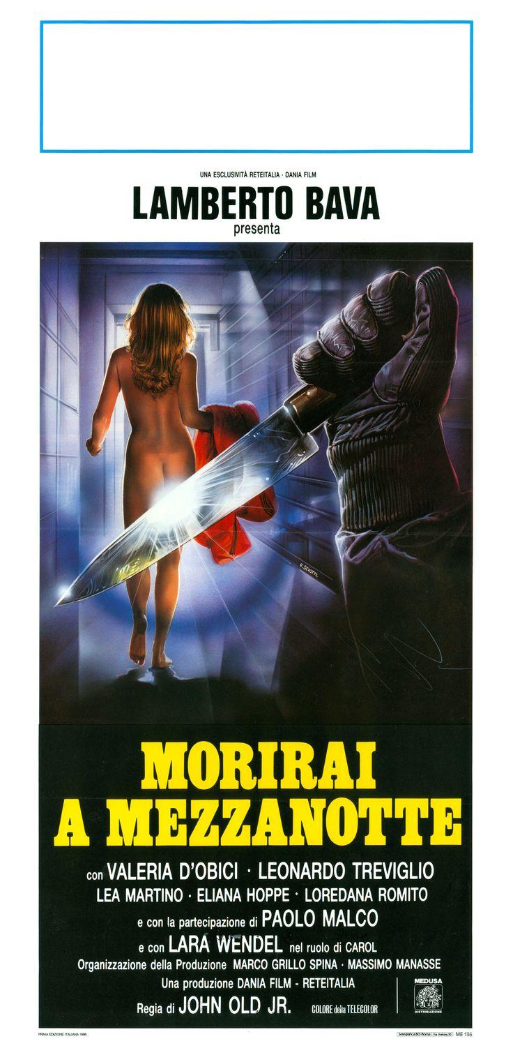 Midnight Killer (1986) Lamberto Bava - Giallo - Horror - Movie - Poster --- flimmerstube.com - Free Horror Movies, English and German Language! - flimmerstube.com - Gratis Horror Streams in englischer und deutscher Sprache!