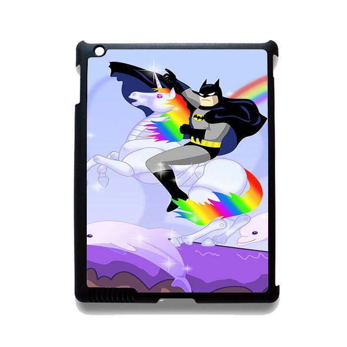 Batman Riding Unicorn Phonecase Cover Case For Apple Ipad 2 Ipad 3 Ipad 4 Ipad Mini 2 Ipad Mini 3 Ipad Mini 4 Ipad Air Ipad Air 2