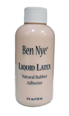 Liquid Latex from Ben Nye is a must for any special fx artist kit. Liquid Latex is a form of natural rubber that can be used in many different ways. Liquid La