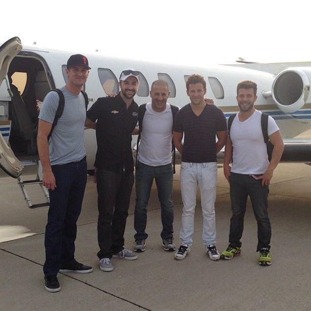 Marco Andretti, Ryan Hunter Reay, Tony Kanaan, James Hinchcliffe, EJ Viso