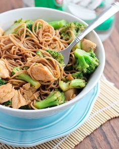13. Chicken Soba Noodle Stir-Fry #beginner #dinner #recipes http://greatist.com/eat/healthy-dinner-recipes-for-beginners