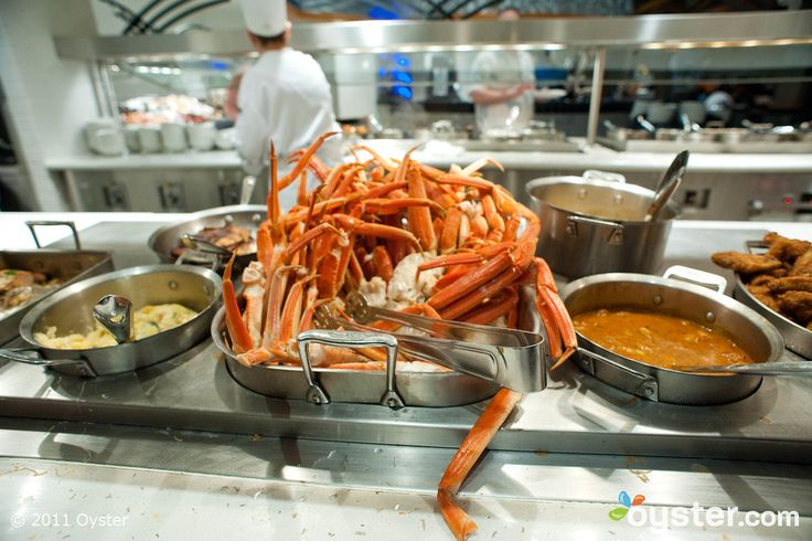 All you can eat lobster tails, flank steak, prime rib, and Crab legs. And its only 38$.  Village seafood buffet at Rio Hotel. Las Vegas.